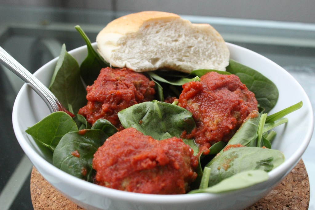 fast and easy chipotle turkey meatballs