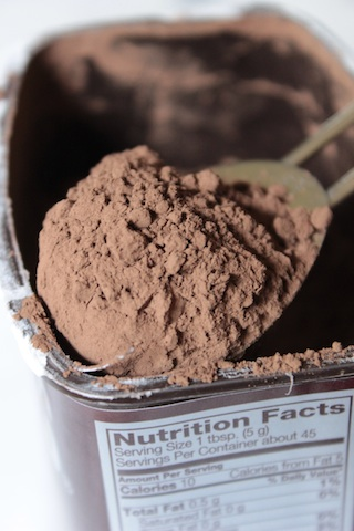 A Heaping Tablespoon of Dark Cocoa Powder