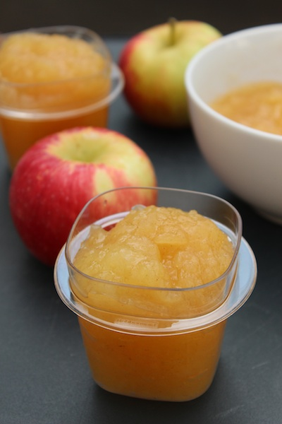 Homemade Applesauce with Vanilla and Cinnamon is warm and comforting, and so simple to make. | www.tastyoasis.net