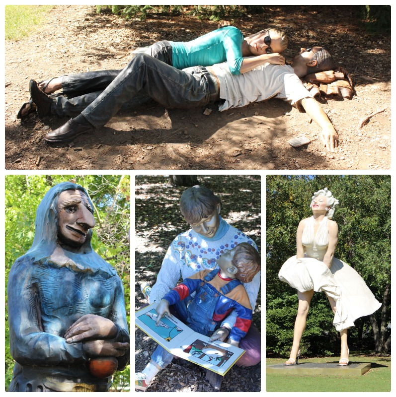 Seward Johnson Sculptures| www.tastyoasis.net