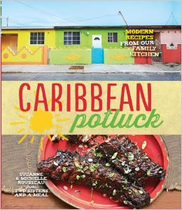 Caribbean Potluck Cookbook was the main source for Caribbean Night Cooking CLub|  www.tastyoasis.net