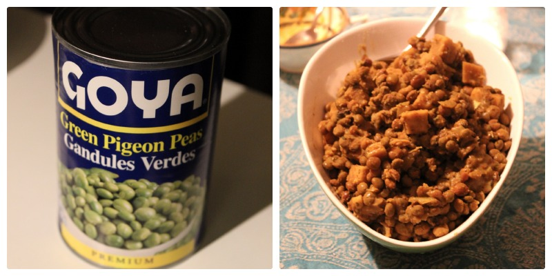 Pigeon Peas for Caribbean Cooking Club| www.tastyoasis.net