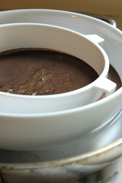 This Extra Dark Chocolate Ice Cream made with high quality bittersweet chocolate, filled with chocolate chunks and even moist chocolate cake is decadent in every way. Rich and satisfying, it is perfect for a special occasion, to make as a gift, or just on a Monday night.   www.tastyoasis.net