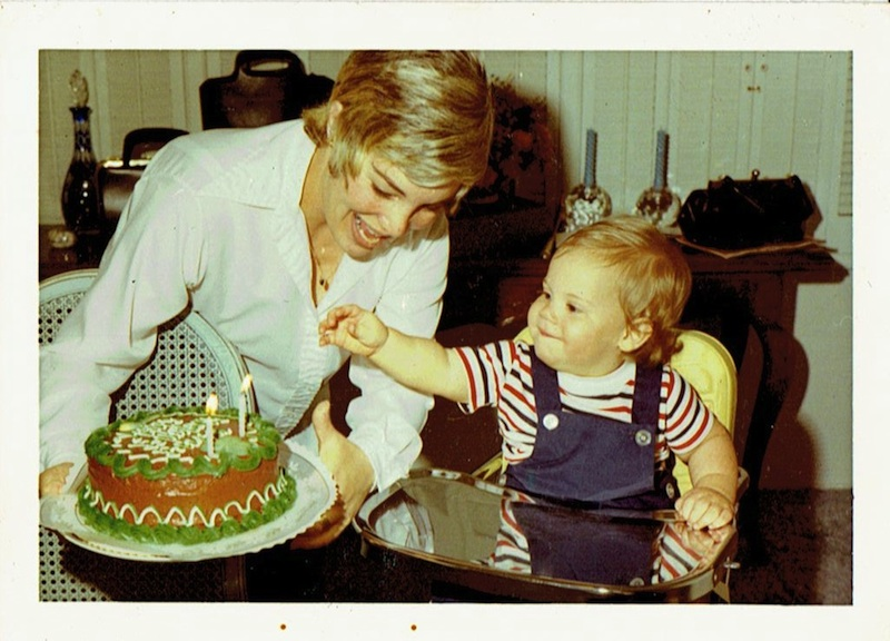 Brian's 1st Birthday: March 17th, 1971