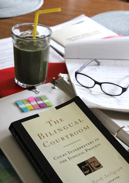 Studying with A Green Smoothie  www.tastyoasis.net