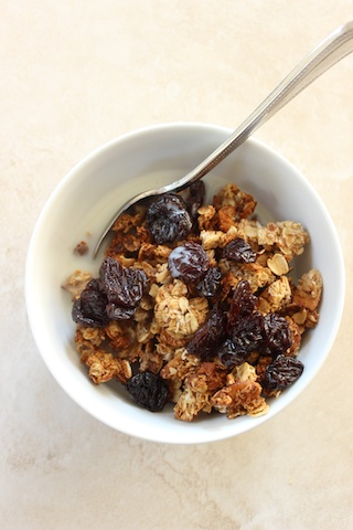 Sesame Date Granola (gluten-free, refined sugar-free, vegan, and all around healthy)