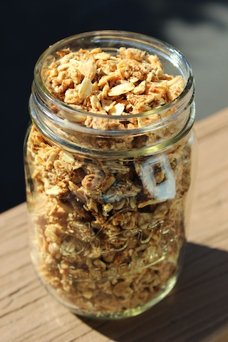 This Sesame Date Granola is a healthy, hearty way to start your day. Gluten-free, refined sugar-free, and vegan, it is packed with a nutty, slightly sweet flavor that has a hint of spice from cinnamon and ginger. It's so easy to make, and is perfect to grab on the go or present for company.
