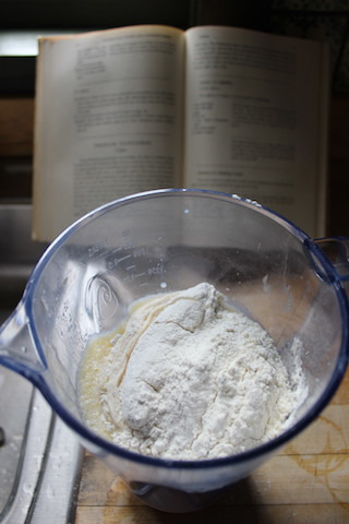 Crepe Batter: Julia Child's Crepes are a classic. A simple batter comes together in the blender in just minutes, and the french pancakes can then be filled with your favorite meats, cheeses or vegetables to serve as a meal, or spread with Nutella for dessert.  www.tastyoasis.net