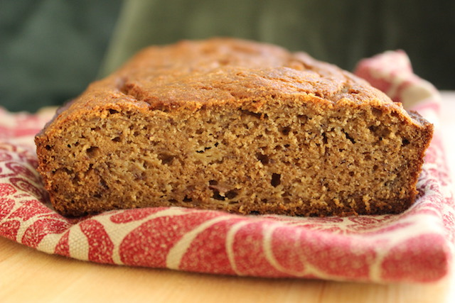 Whole Wheat Banana Bread with Coconut Sugar is a healthy treat, quick to put together, easy to make, refined sugar-free and freezer-friendly.| www.tastyoasis.net